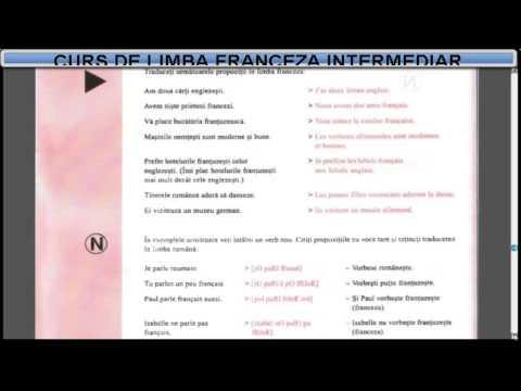 Curs De Limba Franceza Incepatori (tema+vocabular) - Lectia 8