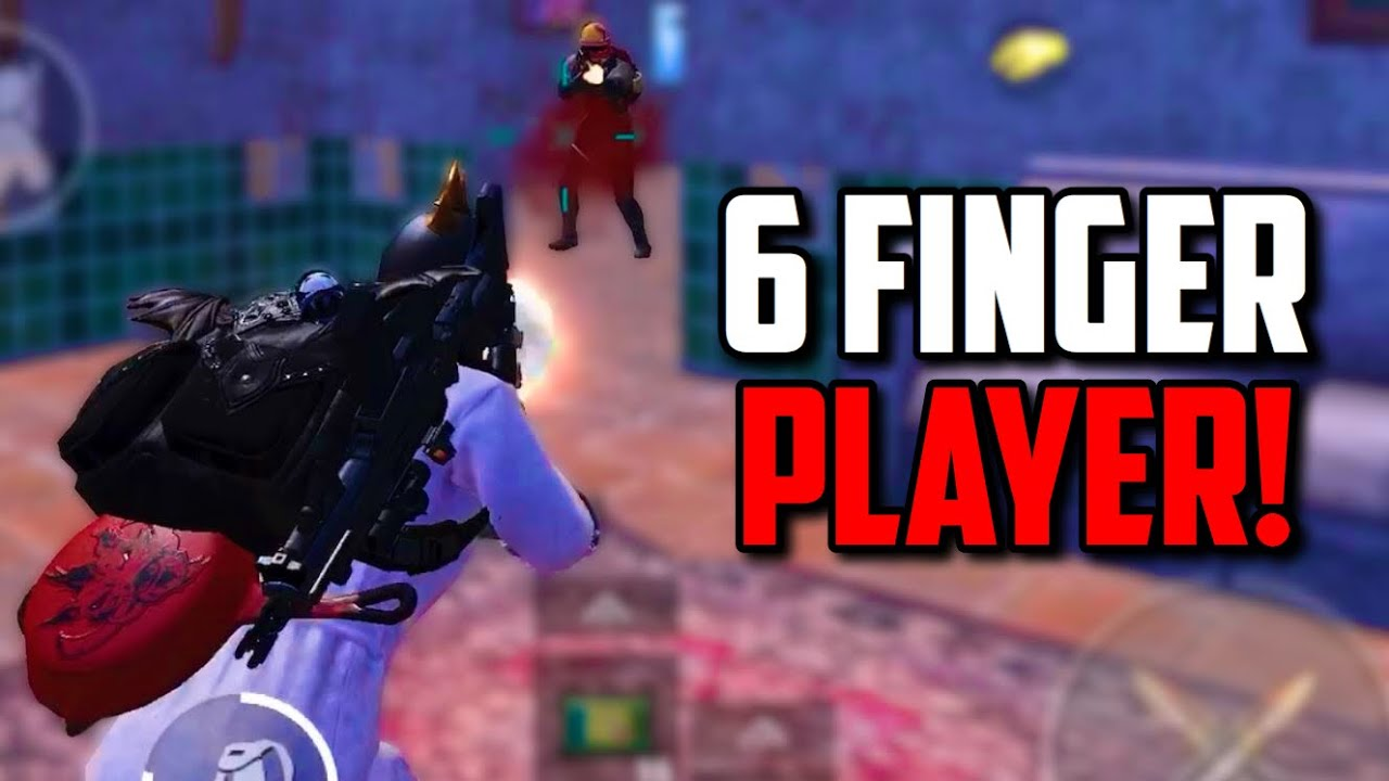 SIX FINGER claw player DESTROYING SQUADS in PUBG Mobile!