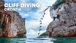 Orlando Duque's Croatian Cliff Diving Expedition