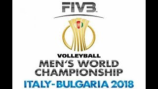 Volleyball world championship 2018 Round 3 Italy vs Serbia