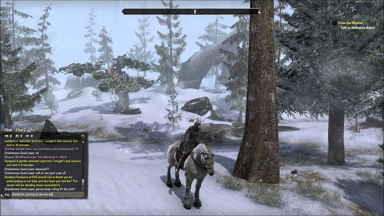 The Elder Scrolls Online, Map exploration! - YouTube
