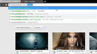 How to see the most viewed videos and most subscribed channels on youtube - Updated 18.12.2011