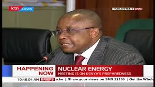 Nuclear energy preparedness meeting in Parliament