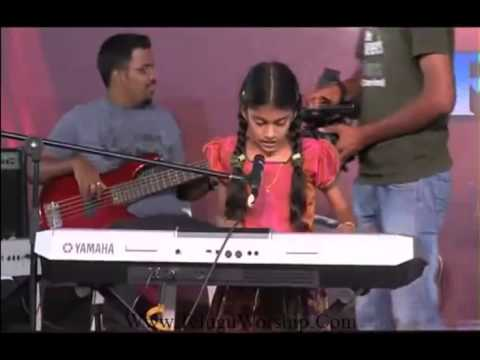 Chinni Manasutho Ninnu Aradhinthunu HD]   Baby  Akshaya   Telugu Christian Song
