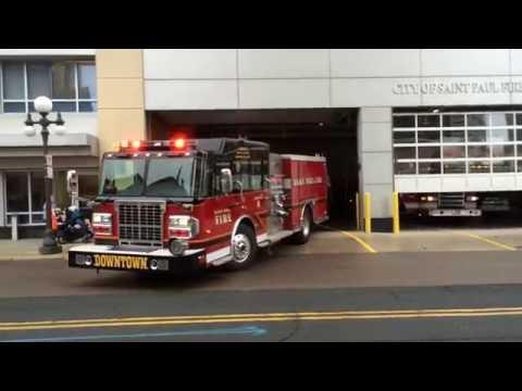 Saint Paul Fire - Fire Station 8 Responding - 08/12/16