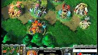 WARCRAFT3 장재호(명경기) 두개의 탑  Spirit_Moon(NE) vs Freedom(UD) The Two Towers