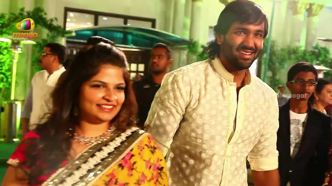 Mohan Babu Amp Family At Kona Venkats Daughters Wedding