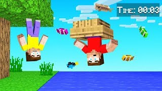 MINECRAFT But Every 10 Seconds GRAVITY FLIPS!
