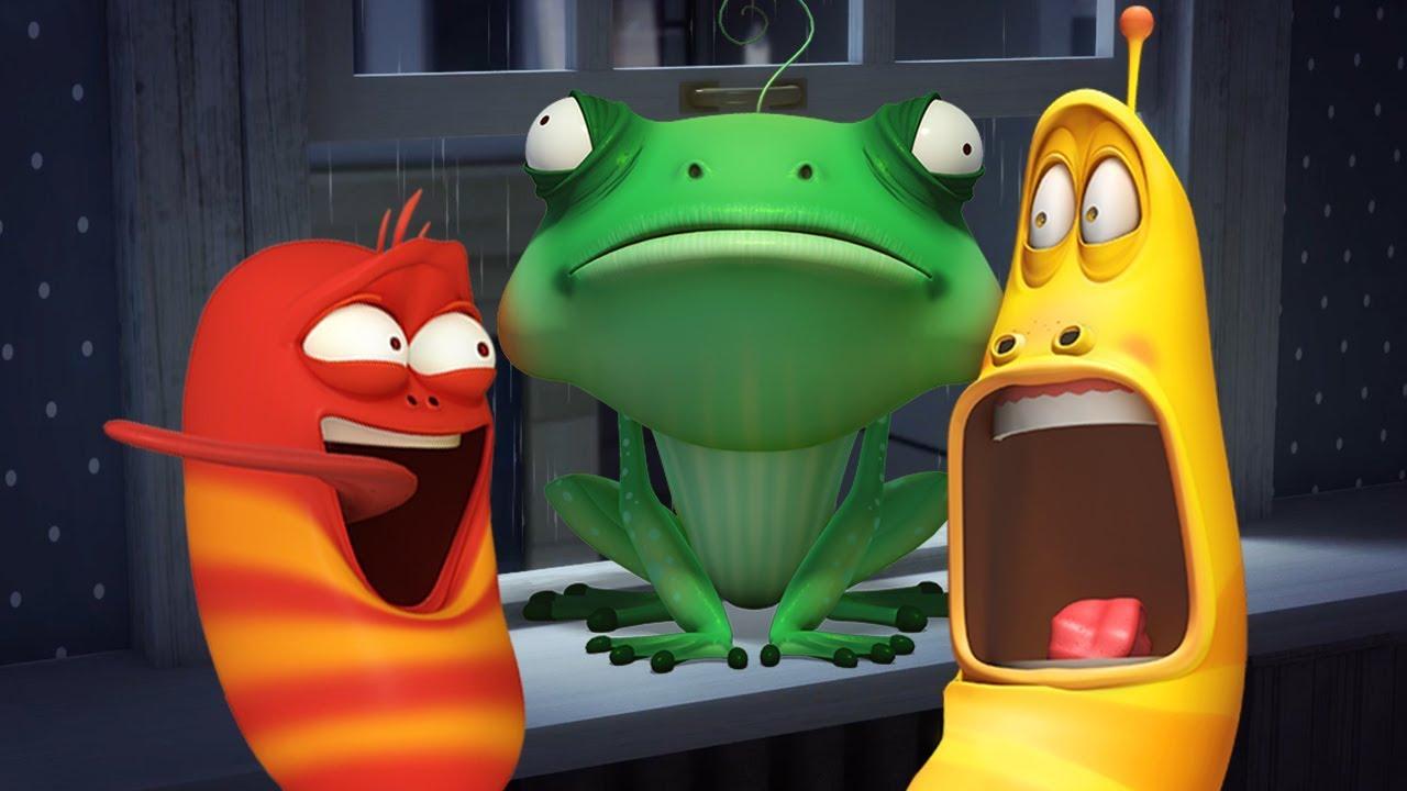 LARVA - FROG WRESTLING   Cartoon Movie   Cartoons For Children   Larva Cartoon   LARVA Official