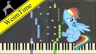 What My Cutie Mark is Telling Me -- Synthesia HD