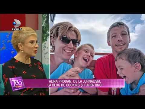 Teo Show (03.10.2018) - Alina Prodan, de la jurnalism, la blog de cooking si parenting! Partea 2