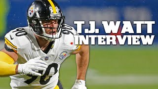T.j. watt joins nfl network's total access ahead of the pittsburgh steelers mnf game against cincinnati bengals.subscribe to nfl: http://j.mp/1l0bvbuchec...