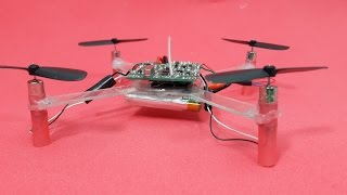 How to make Quadcopter from CDs
