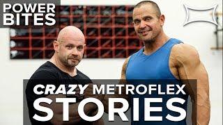 Branch Warren Shares Crazy Metroflex Gym Stories | Power Bites