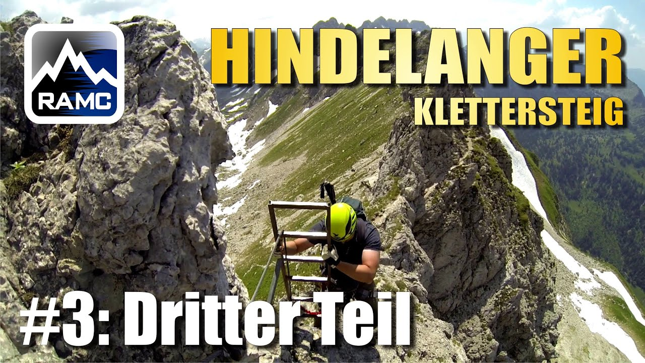 Hindelanger Klettersteig Ungesicherte Stellen : Hindelanger klettersteig b c erfahrungsbericht