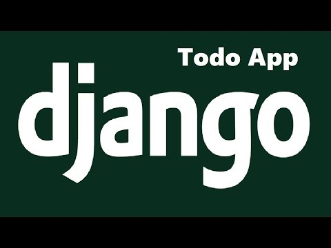 Use Django to Create a Todo List App