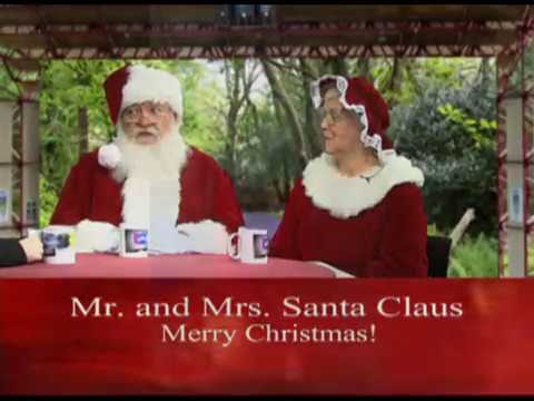 Meeting Mr. & Mrs. Claus