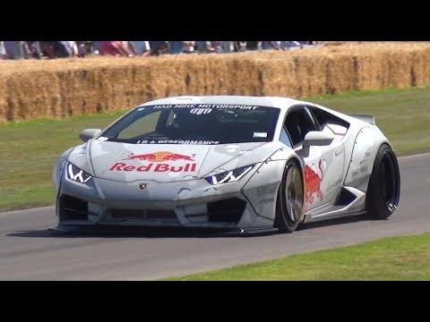 Goodwood FOS 2019: Day 1 - Mad Mike's Lamborghini Drift Car, Rally Cars, Trucks & More!