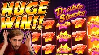 HUGE WIN!! Double Stacks BIG WIN!! Online Slot from CasinoDaddy Live Stream