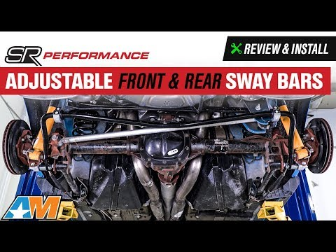 2011-2014 Mustang SR Performance Adjustable Front & Rear Sway Bars Review & Install
