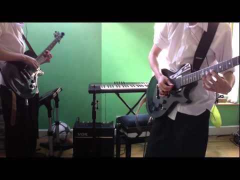 Bloc Party - skeleton (dual guitar cover)