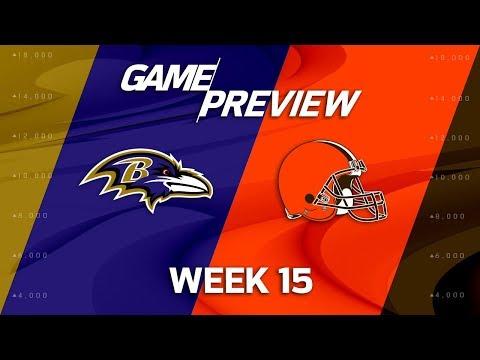 Baltimore Ravens vs. Cleveland Browns   NFL Week 15 Game Preview   NFL