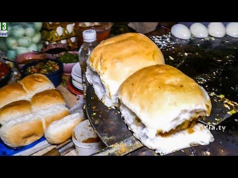 MAKING OF BOILED EGG PAV WITH MASALA | ANDA PAV | HEALTHY STREET FOOD