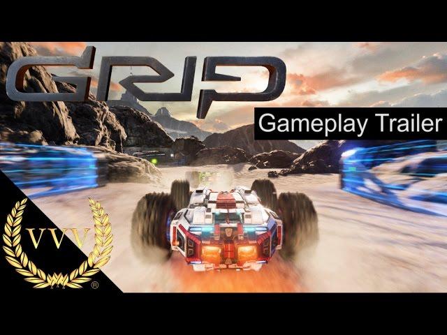 GRIP: Combat Racing Full Kontakt Trailer