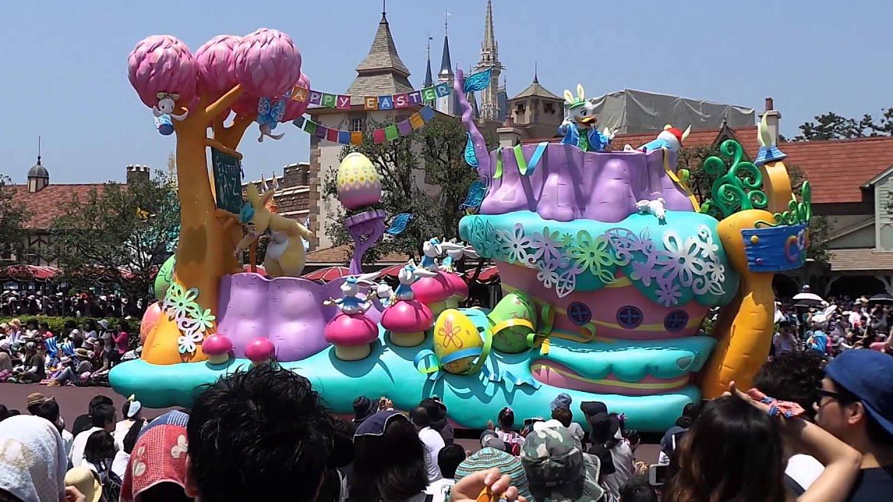 日本迪士尼 遊行表演! - YouTube