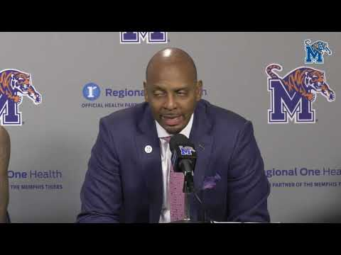 emphis Basketball: Penny Hardaway Tennessee Post Game Press Conference