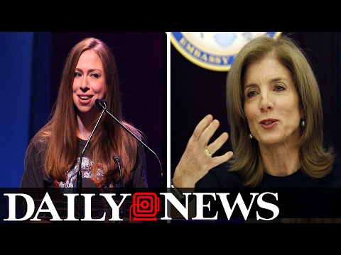 Democratic Party Bracing For Chelsea Clinton Vs  Caroline Kennedy Showdown
