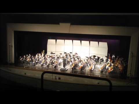 2011 OMEA Southwest Ohio Region Orchestra - Dvorak Symphony No. 8 (2nd and 4th Movements)