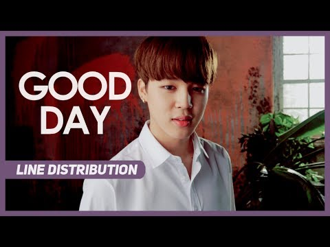 BTS (방탄소년단) - Good Day (Line Distribution) Color Coded
