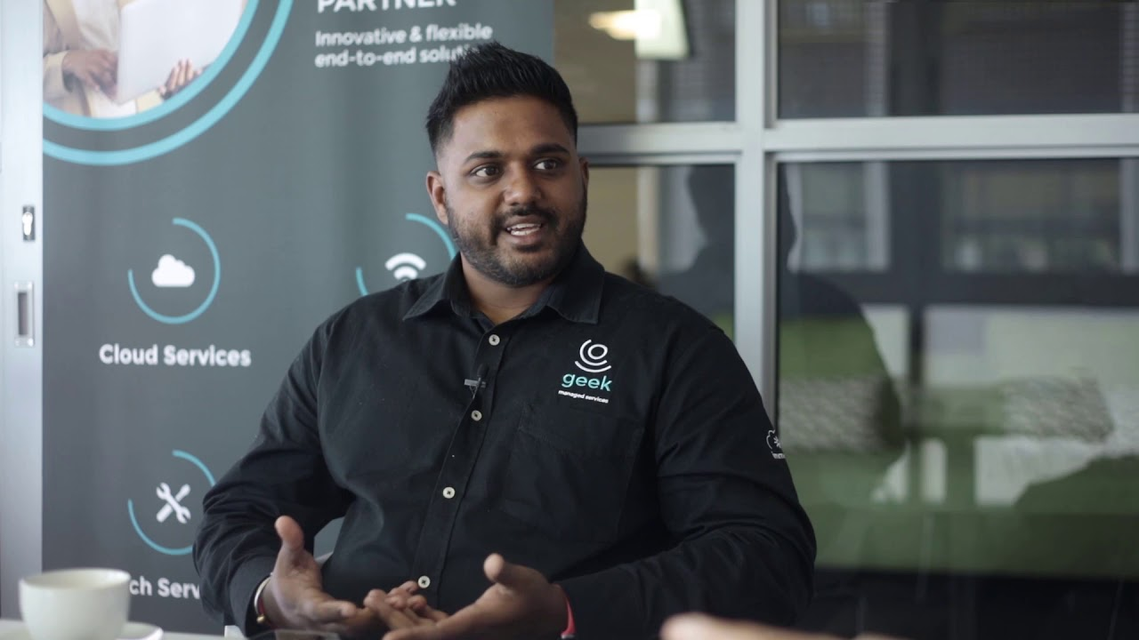 Coffee with Grant & Kemlyn Pillay from Geek Managed Services