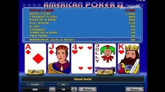 AMERICAN POKER 2 online free casino SLOTSCOCKTAIL hhs