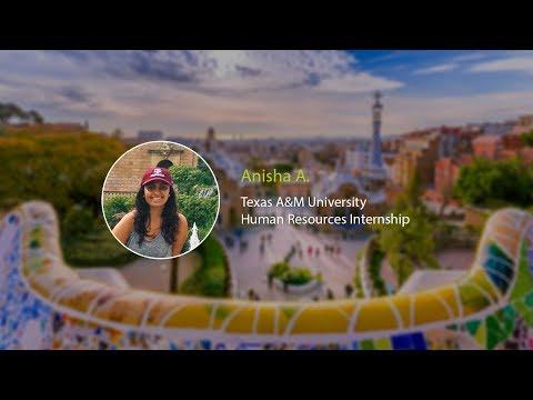 Human Resources Intern Anisha A.'s Barcelona Snapchat Takeover