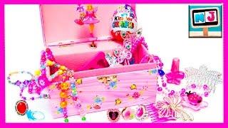 Музыкальная шкатулка! Сюрпризы, украшения для девочки. Шкатулка с принцессой