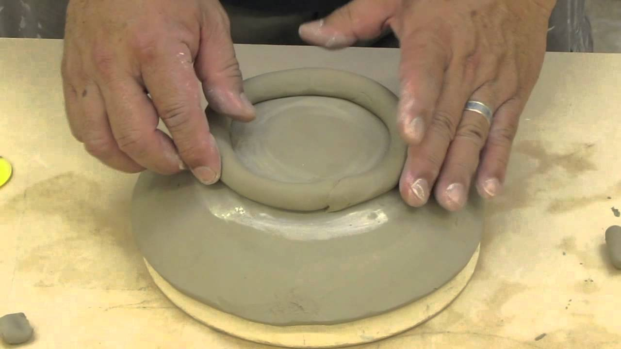 TCC Art Department Ceramics hand build bowl & TCC Art Department Ceramics hand build bowl - YouTube