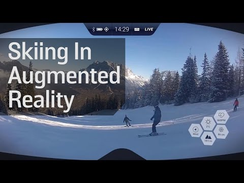 If You Like Skiing, You'll Love Augmented Reality Skiing