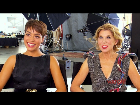 Cush Jumbo and Christine Baranski's Glamorous Photo Shoot