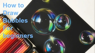 How to draw Bubbles(For beginners)