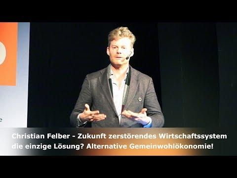 Christian Felber – Zukunft zerstörendes Wirtschaftssystem die einzige Lösung? Gemeinwohlökonomie
