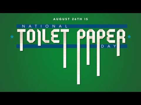 National Toilet Paper Day - YouTube