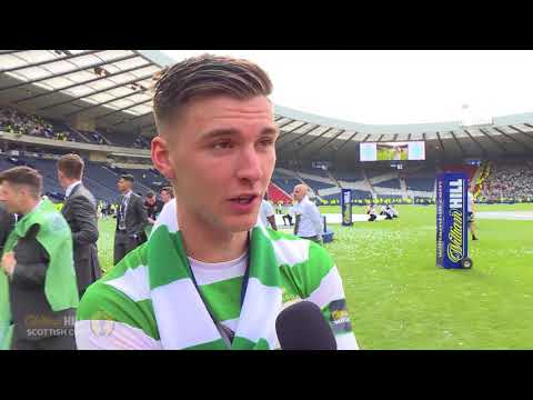 REACTION | Kieran Tierney | Celtic 2-0 Motherwell | William Hill Scottish Cup Final