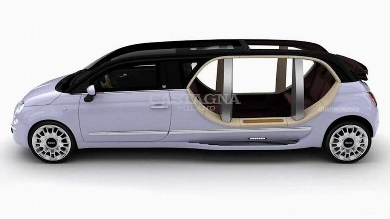 Fiat 500 Limousine By Castagna Milano Youtube