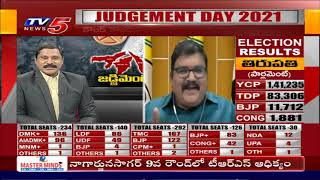 TDP Leader Pattabhi About Tirupati By Election Results | TV5 Vijay | TV5 News