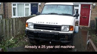 Rotten Old Land Rover Discovery Commercial  - Русское повествование