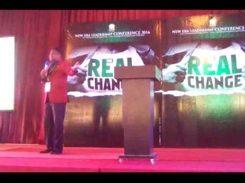 Pastor Paul Adepegba At The New Era leadership Conference 2016 1