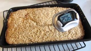 Gluten Free Sorghum, Millet, Oat Bread