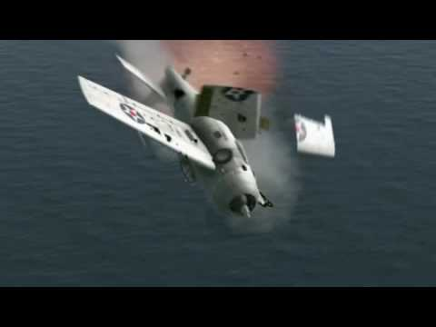 Puff Daddy - Come With Me put to a Flight Simulator